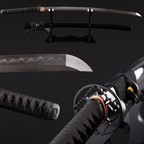 Chintana Clay Tempered Folded Steel Katana Samurai Sword