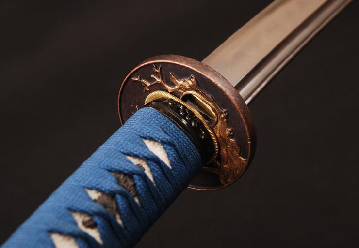 Chuachan Clay Tempered Folded Steel Katana Samurai Sword