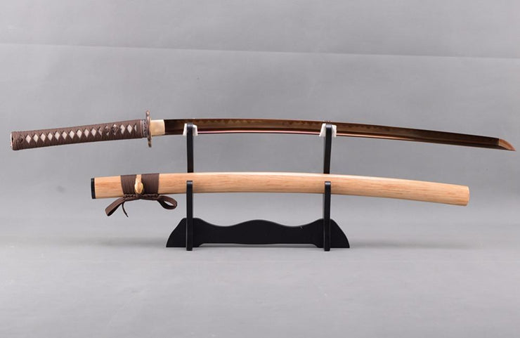 Churai Clay Tempered Carbon Steel Katana Samurai Sword