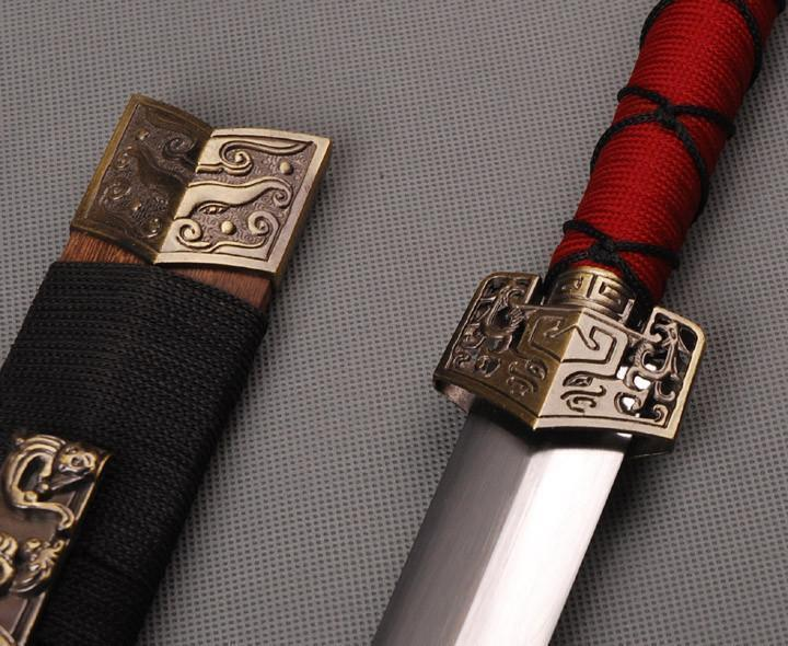 Hand Forged Han Dynasty Chinese Jian Sword
