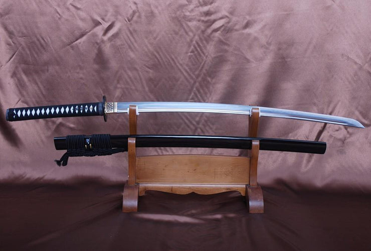 Hanuman Clay Tempered Folded Steel Katana Samurai Sword