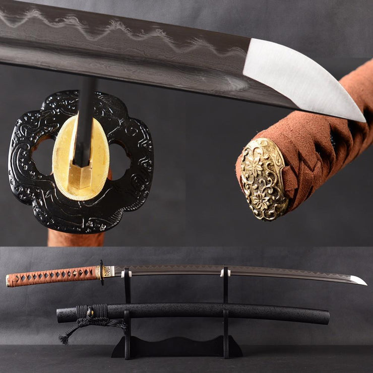 Jintachi Clay Tempered Katana Samurai Sword