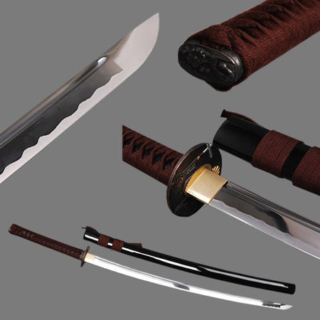 Keikai High Carbon Steel Katana Samurai Sword