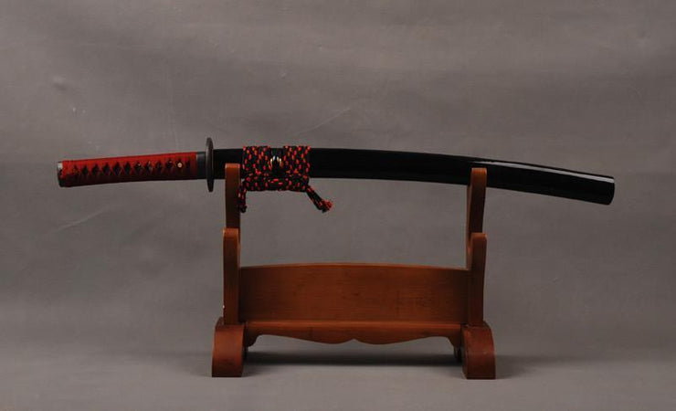 Noble Clay Tempered Carbon Steel Wakizashi Samurai Sword