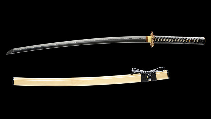 Rutsu Clay Tempered Katana Samurai Sword