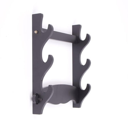 Wall Mount Sword Holder For Katana, Wakizashi and Tanto - Triple
