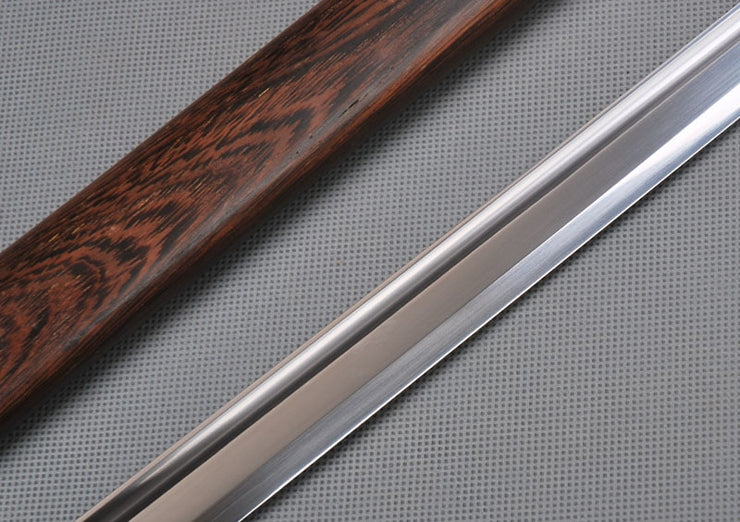 Straight Full Tang Carbon Steel Ninja Sword