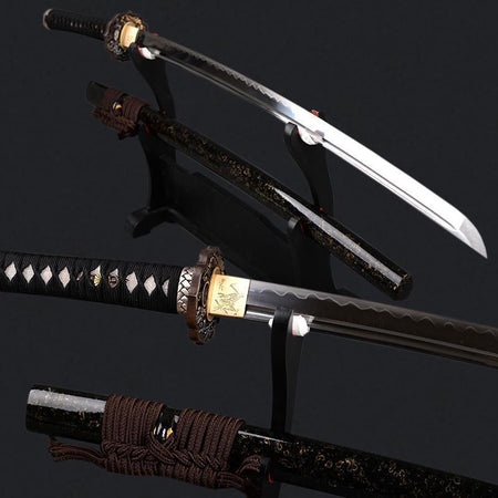 Shinobigatana Clay Tempered Katana Samurai Sword