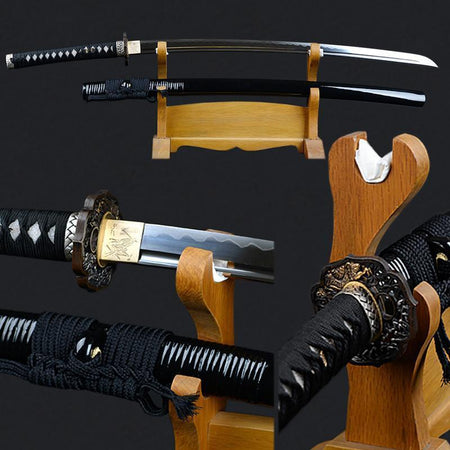 Shirasaya Clay Tempered Katana Samurai Sword