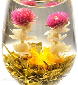 Premium Loose Whole Leaf blooming Tea