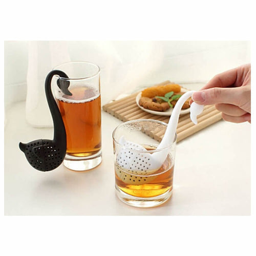 Swan Shaped Teaspoon Tea Infuser Filter Strainer - Tao Te Tea Premium Whole Leaf Tea