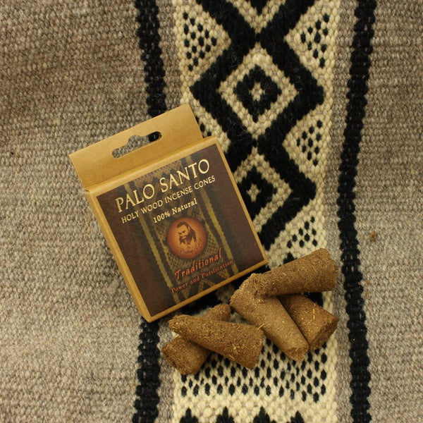 Palo Santo Traditional | Power & Purification | Incense Cones - Tao Te Tea Premium Whole Leaf Tea