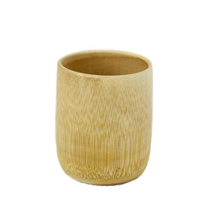Hand Made Bamboo Cup | Enjoy your favorite tea from a natural hand-made cup - Tao Te Tea Premium Whole Leaf Tea