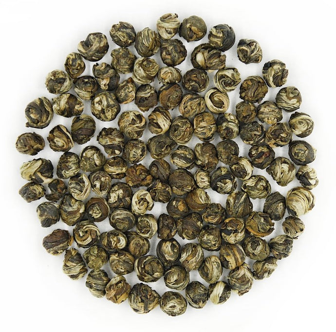 Jasmine Dragon Pearl Green Tea | Premium Grade Whole Leaf Green Tea Pearls - Tao Te Tea Premium Whole Leaf Tea