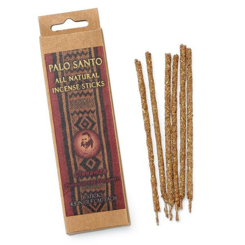 Palo Santo Cinnamon Incense Sticks | Protection & Prosperity - Tao Te Tea Premium Whole Leaf Tea