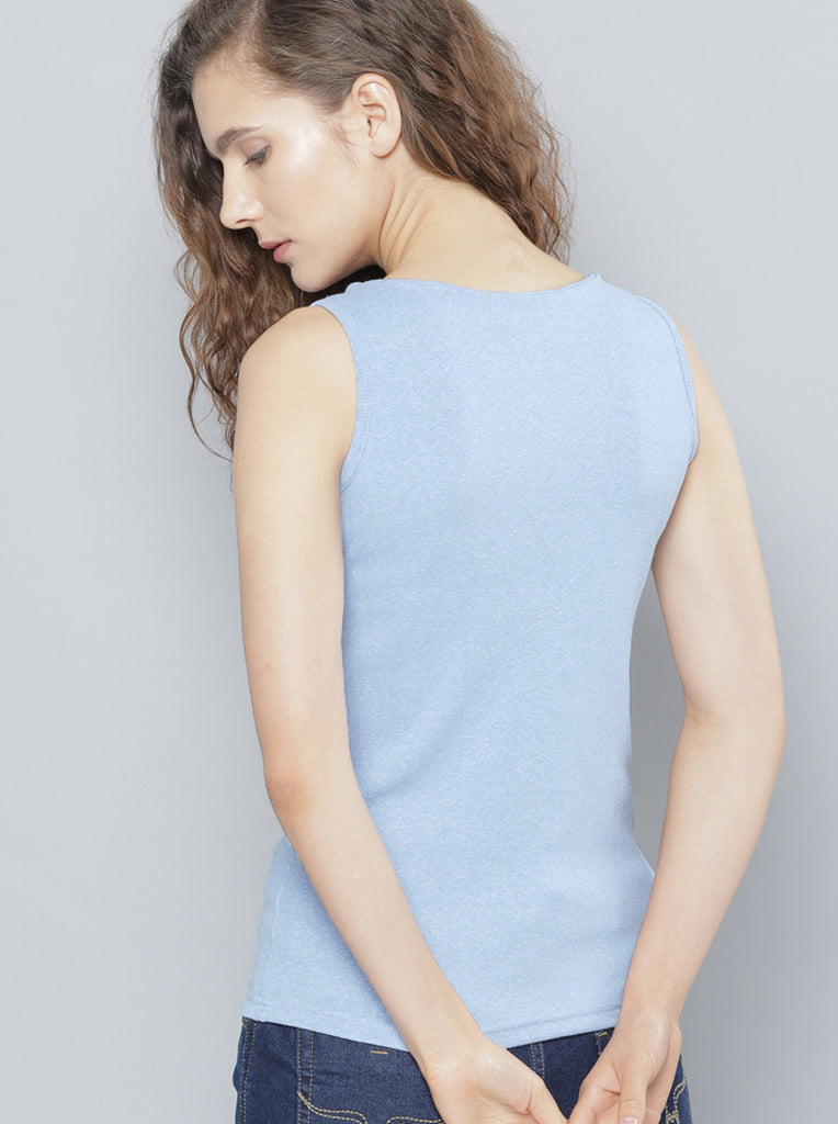 Solid Top Sleeveless