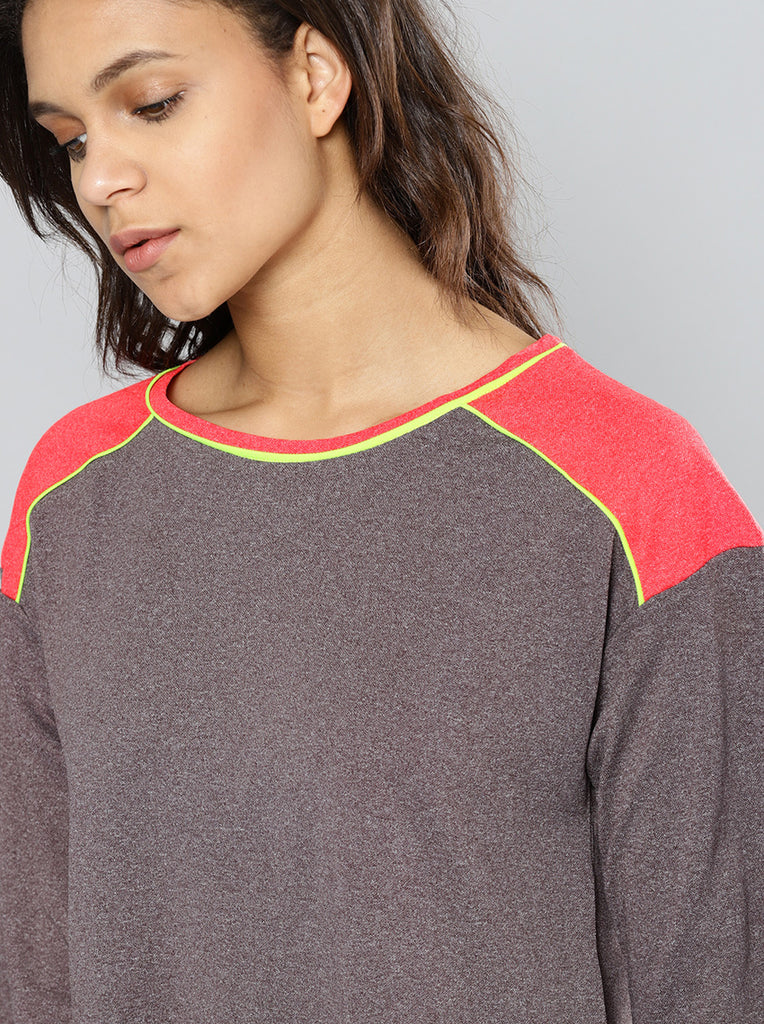 Solid Boat Neck Crop T-shirt