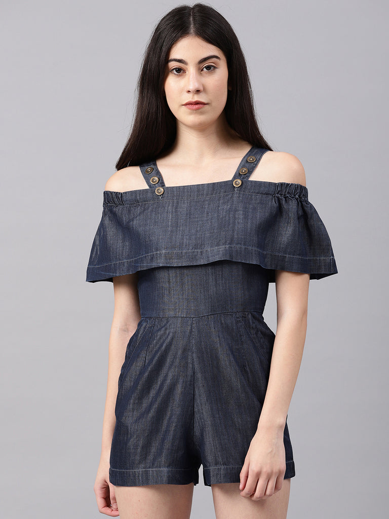 Layer Playsuit with Cross Pocket
