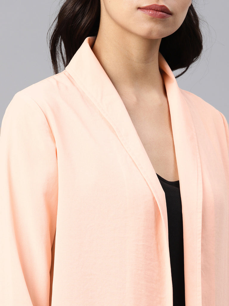 Lapel Collar Shrug