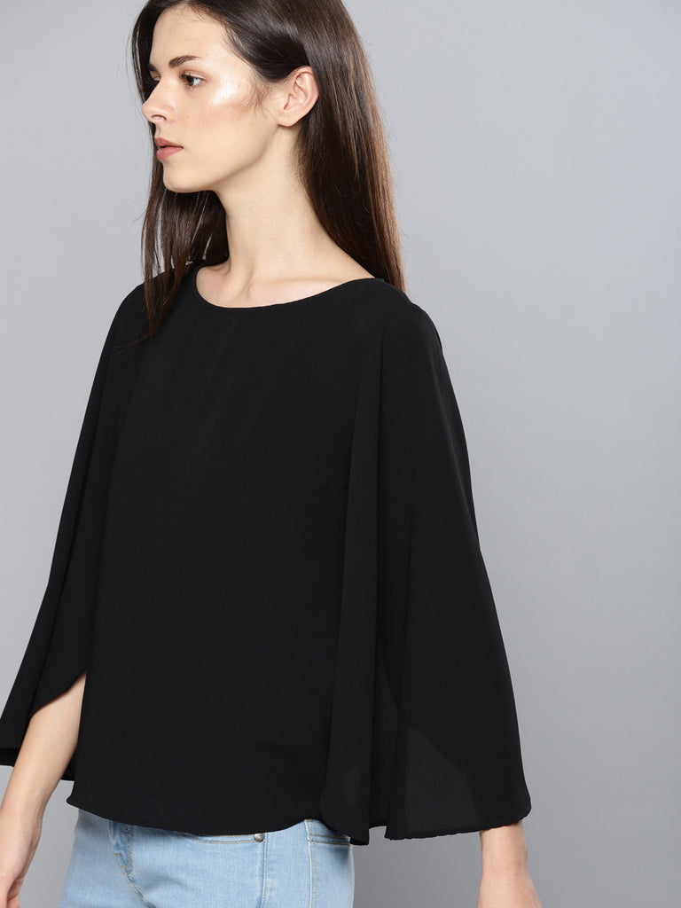 OPEN BELL SLEEVES