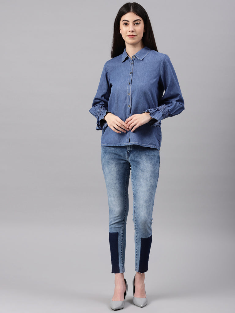Front Placket Open Shirt