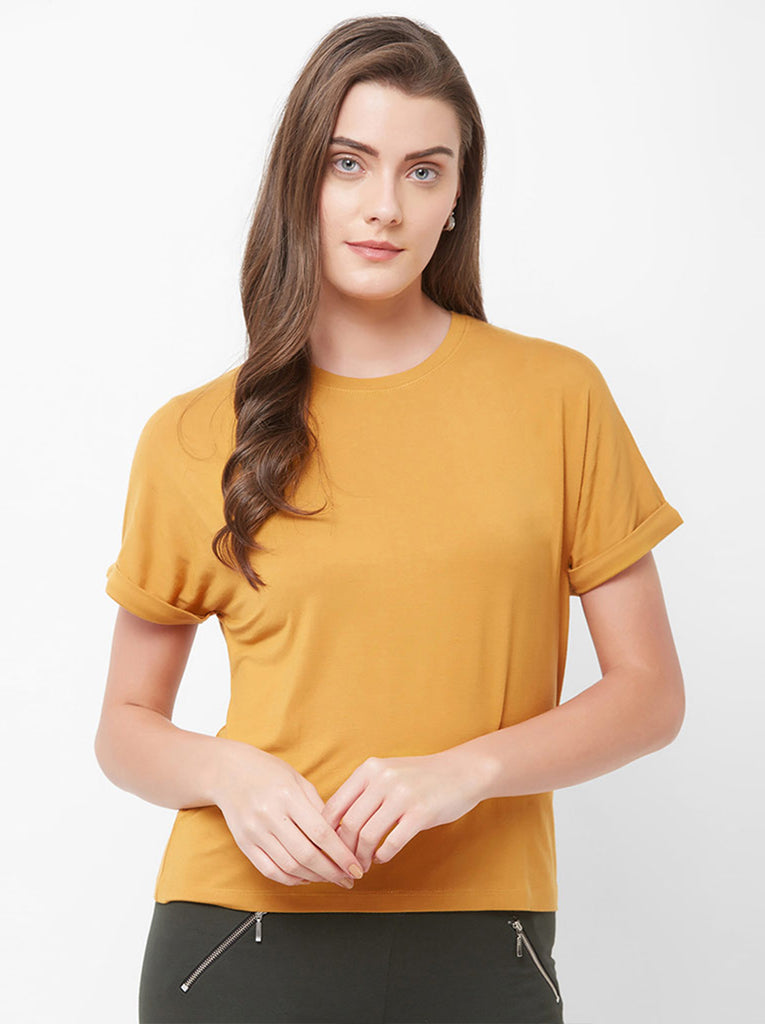 DROP SHOULDER TOP