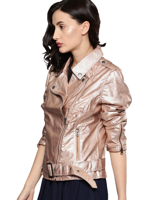 Gunmetal-Toned Solid Tailored Jacket