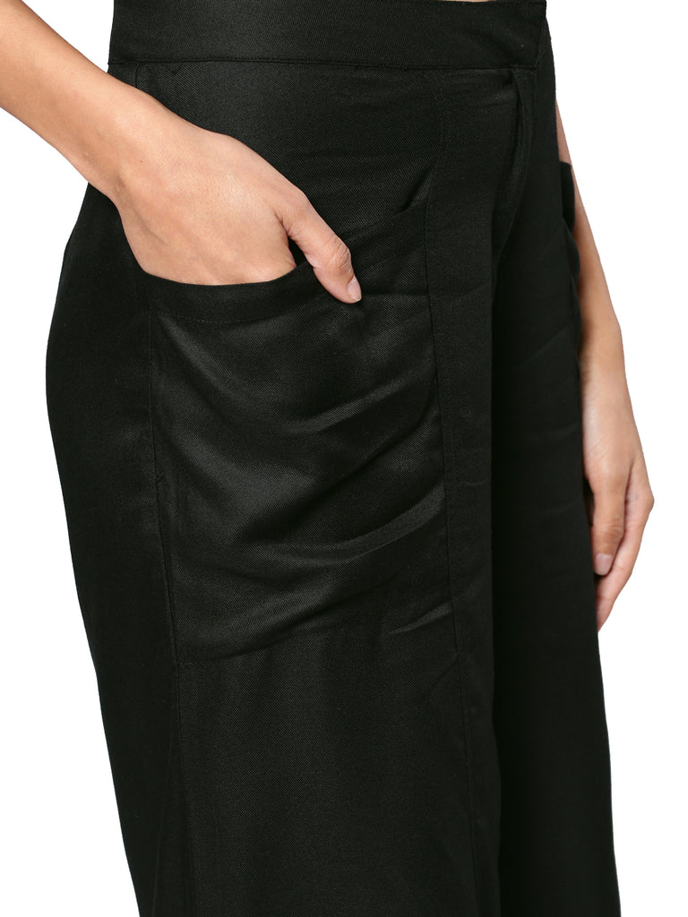 flared culottes