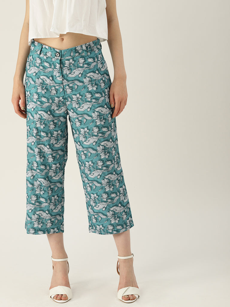 SOLID CULOTTE PANT RELAX FIT