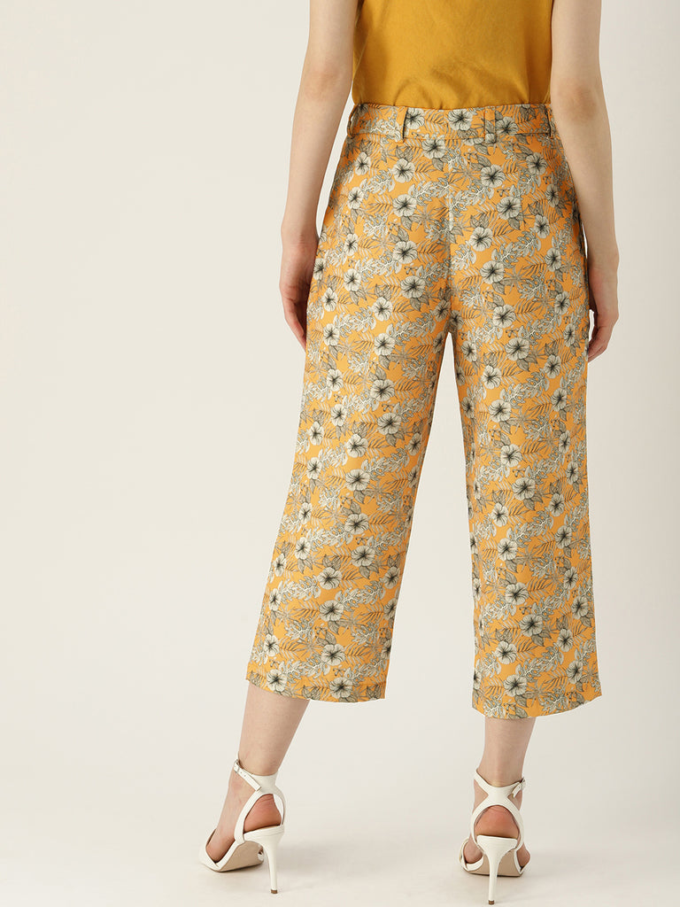 ROSE WOOD CULOTTE PANT RELAXED FIT