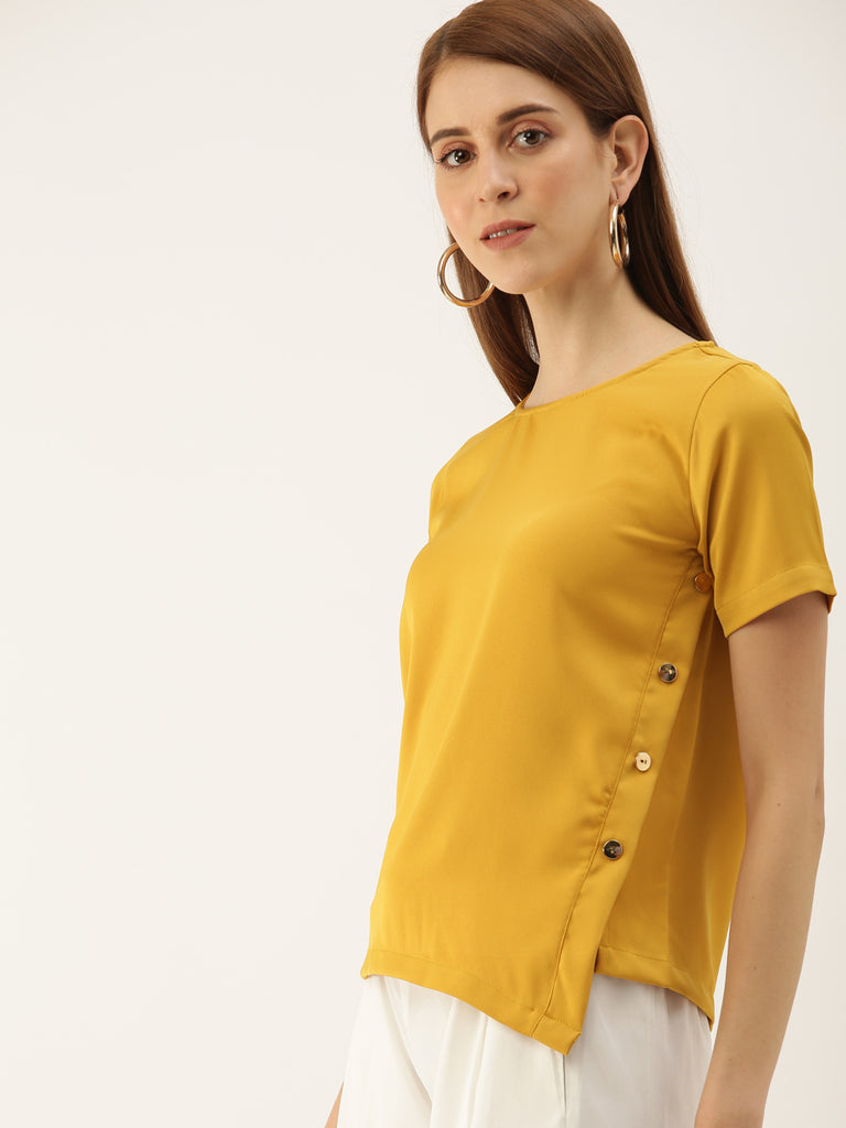 Solid Top With Side Details
