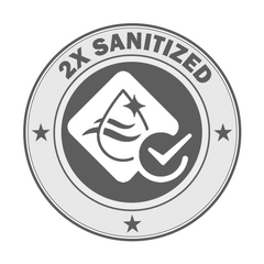 2x Sanitized