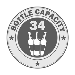 34 Bottle Capacity