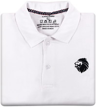 Load image into Gallery viewer, Stylish Polo T-Shirts - Combo of 3 (Navy blue, White, Red)