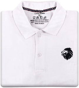 Stylish Polo T-Shirts - Combo of 3 (Navy blue, White, Red)