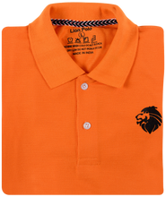 Load image into Gallery viewer, 3 Pack Tshirts - Lion Polo (Navy blue, White, Orange)