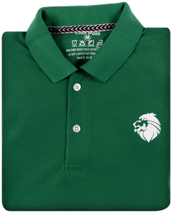 LionPolo Premium Cotton Tshirts for Men Combo Pack of 3 (Green, Navy blue, Orange)
