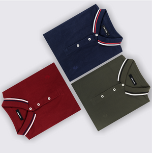 Dynamic Combo Pack of 3 - Maroon, Olive, Navy Blue