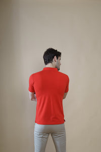 Sleek Combo (Pack Of 2) - Green and Red Polo T-shirt