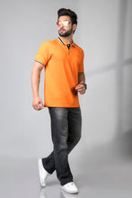 Load image into Gallery viewer, Magnetic Orange Polo T-Shirt