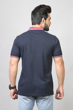 Load image into Gallery viewer, Midnight Blue Polo T-Shirt