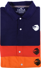 Load image into Gallery viewer, 3 Pack Tshirts - Lion Polo(Navy blue, Orange, Red)
