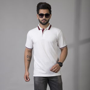 Pure White Polo T-Shirt