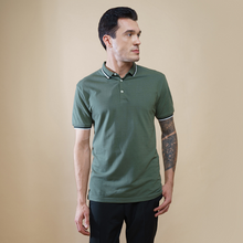 Load image into Gallery viewer, Eccentric Olive Polo T-Shirt