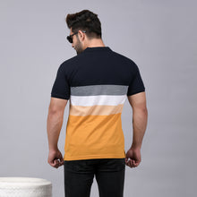 Load image into Gallery viewer, Mustard Striper Polo T-Shirt