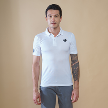 Load image into Gallery viewer, White Polo T-Shirt