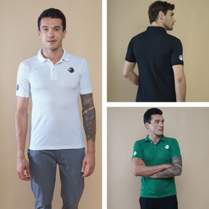 Crazy Combo - Pack of 3 shirts (White, Black, Green)