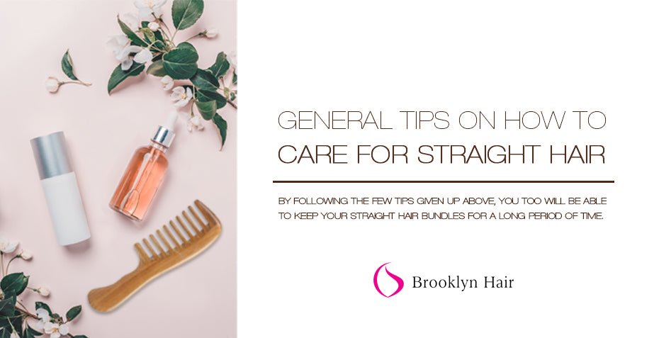 General tips on how to properly care for straight hair!