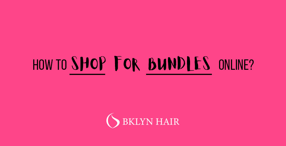 How to shop for bundles online?