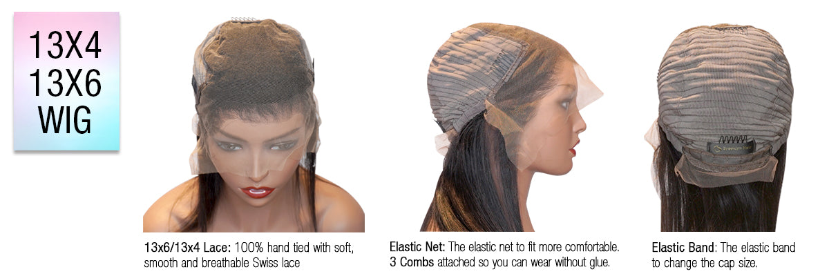 Alternative First Wig - A Lace Frontal Unit